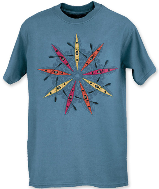 Men S Sea Kayak T Shirt Liberty Graphics