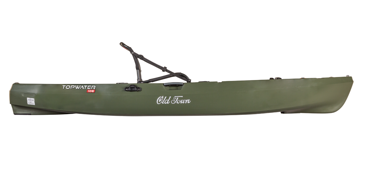 TOPWATER 106 ANGLER- OLD TOWN KAYAKS - NEW FOR 2019!